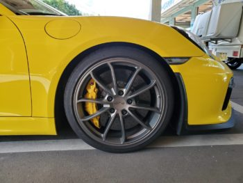 BMWタイヤ交換
