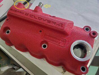 サンバー赤ヘッドエンジン