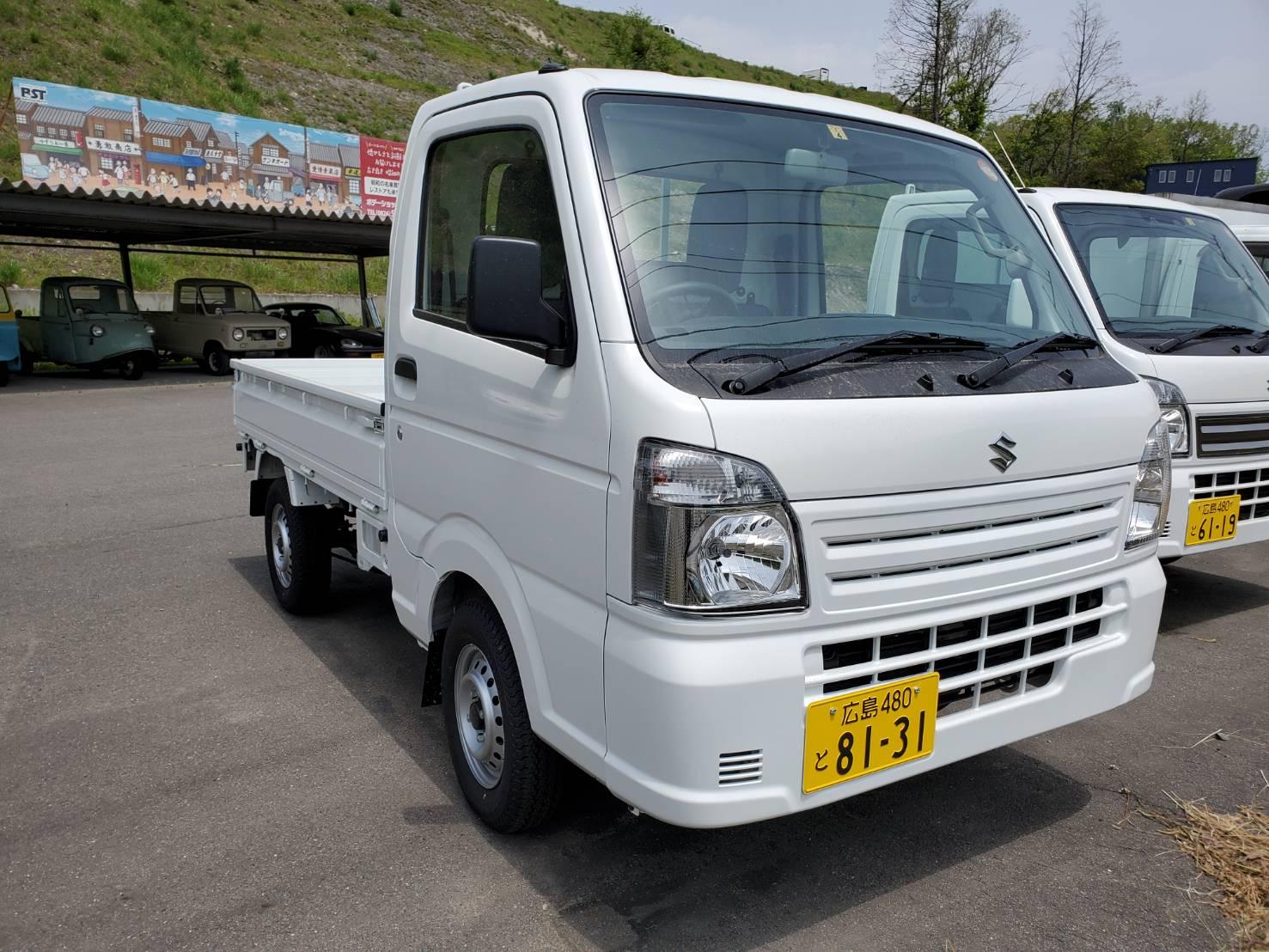 スズキキャリィKCエアコン・パワステ4WD/5MT