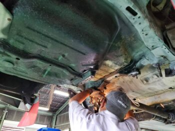ランサーフレーム錆修理